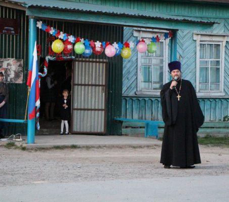 Помощник благочинного по миссионерской работе Ардатовского округа принял участие в праздновании Дня Победы