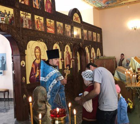 Миссионерское богослужение в Чкаловском благочинии
