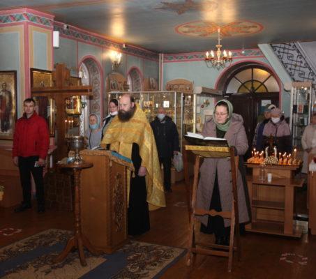 Миссионерский молебен в Павлово